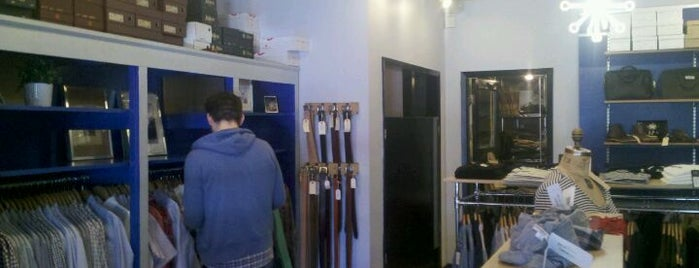 Epaulet is one of Menswear New York.
