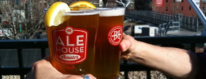 Ale House at Amato's is one of Thrillist's Last Meal in Denver (2012).