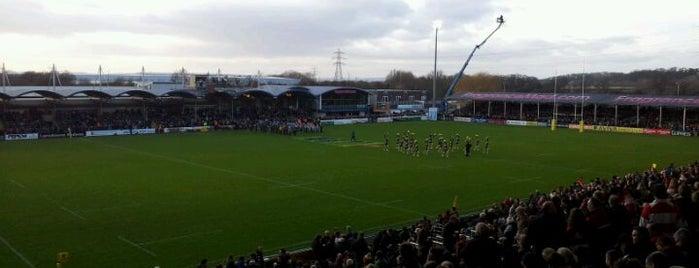 Sixways Stadium is one of UK & Ireland Pro Rugby Grounds.
