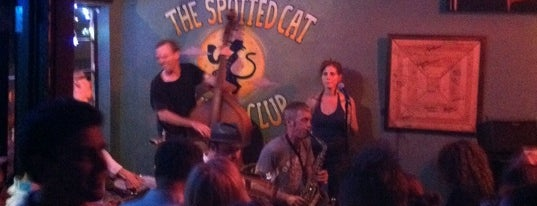 The Spotted Cat Music Club is one of New Orleans City Badge - The Big Easy.