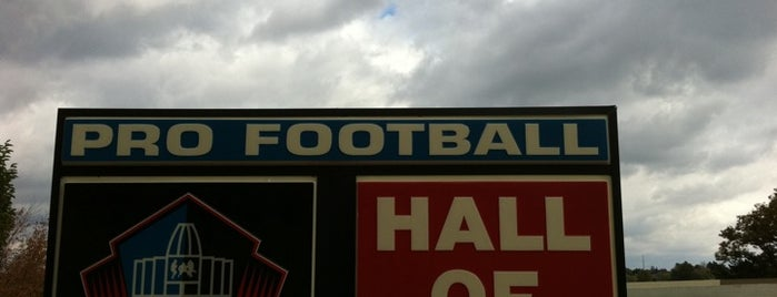 Pro Football Hall of Fame is one of Top Picks for Sports Stadiums/Fields/Arenas.