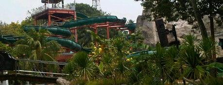 Atlantis Water Adventure is one of Enjoy Jakarta 2012 #4sqCities.