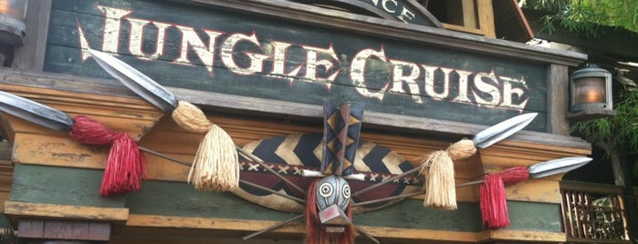 Jungle Cruise is one of Rides I Done...Rode.