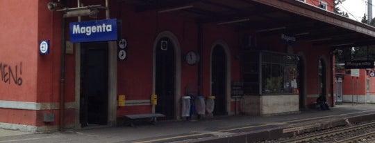 Stazione Magenta is one of Linee S e Passante Ferroviario di Milano.