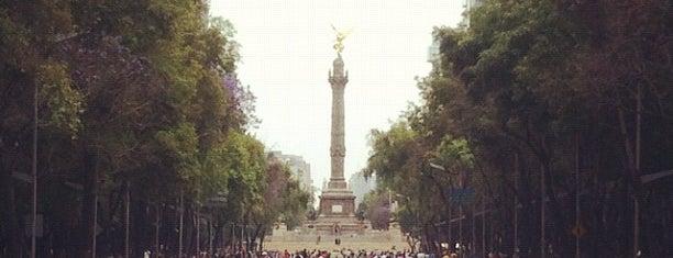 Av. Paseo de la Reforma is one of O que Fazer na Cd. do México.