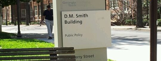 D. M. Smith Building is one of Georgia Tech.