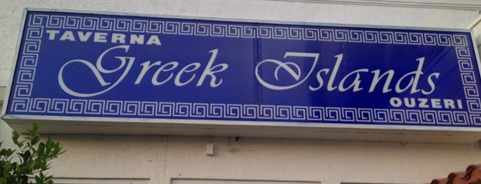 Greek Islands Taverna is one of 20 favorite restaurants.