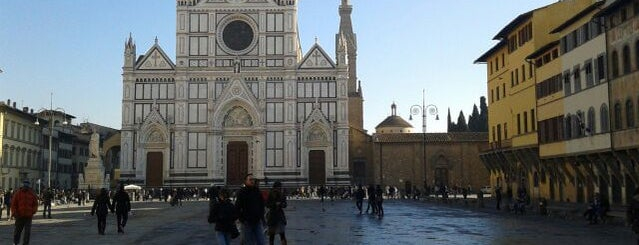 Basilica of Santa Croce is one of Under the Florence Sun - #4sqcities.