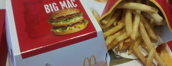 McDonald's is one of Fast Food in Ljubljana.