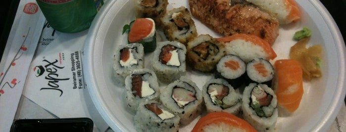 Japex is one of Melhores sushis.
