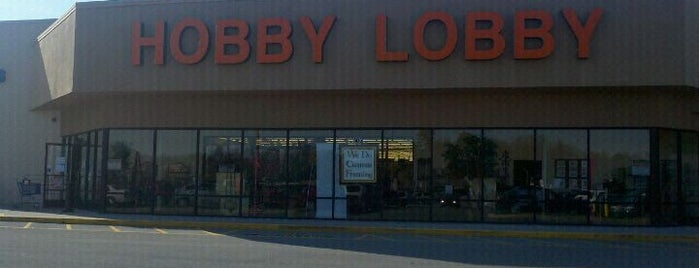 Hobby Lobby is one of Favorites.