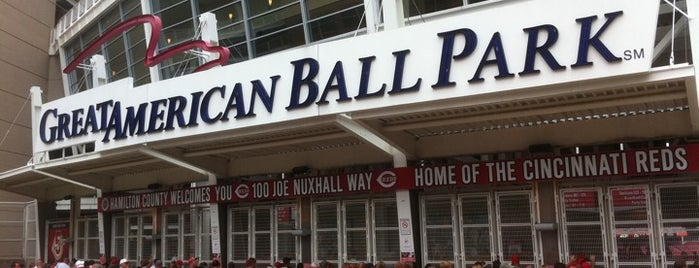 Great American Ball Park is one of Sport Staduim.