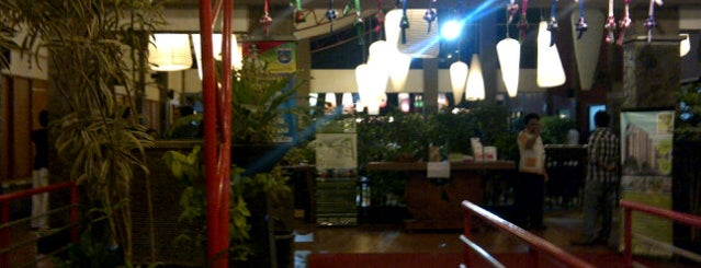 Telaga Seafood Restaurant is one of Greasy Spoon Badge.