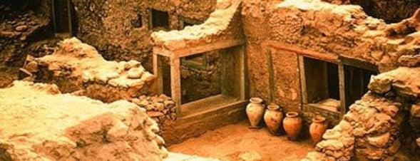 Αρχαίο Ακρωτήρι Θήρας (Akrotiri Prehistoric Town) is one of Ελλαδα.