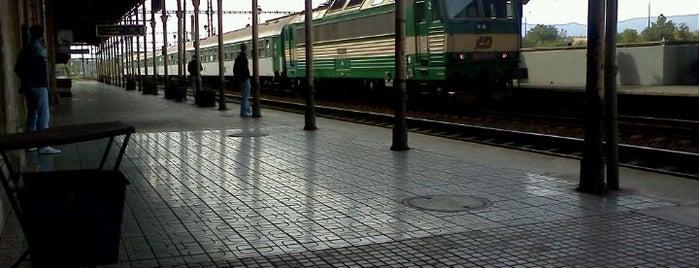 Železniční stanice Teplice v Čechách is one of Linka U6 Lovosice - Úpořiny - Teplice v Čechách.