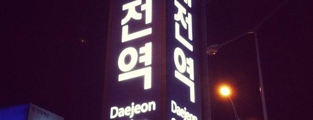 대전역 (Daejeon Stn. - KTX/Korail) is one of 10,000+ check-in venues in S.Korea.