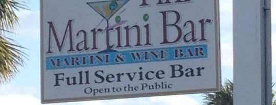 The Tini Martini Bar is one of My St. Augustine Favorites.