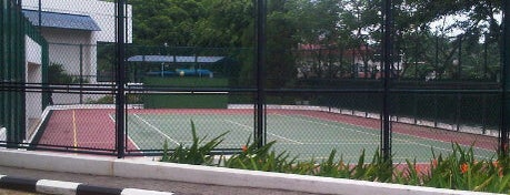 Gelanggang Tennis is one of Ace Badge (Tennis Court) in Jakarta Indonesia.