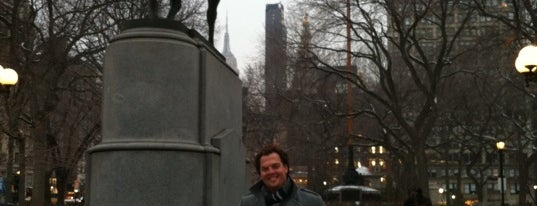 George Washington Statue is one of Occupy 1776: Revolutionary New York.
