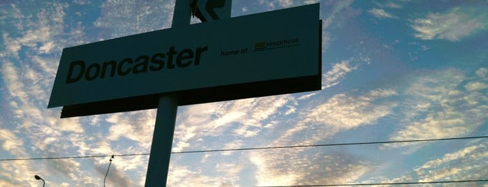 Doncaster Railway Station (DON) is one of Railway Stations in UK.