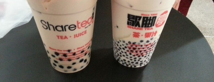 Share Tea (歇脚亭) is one of Fav eateries!.