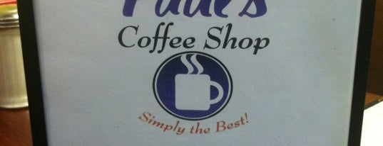 Paul's Coffee Shop is one of Triple D Checklist.