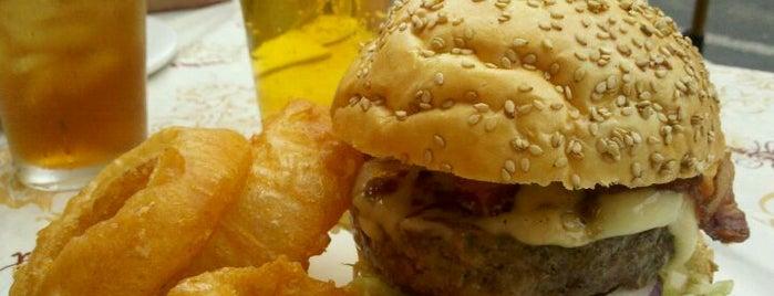 Hamilton Tavern is one of Baltimore Burger Nom.