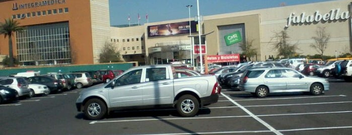 Mall Plaza Tobalaba is one of Shopping en Stgo..