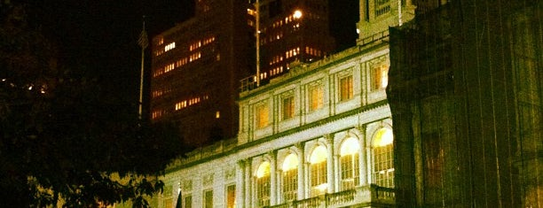 New York City Hall is one of Buildings.