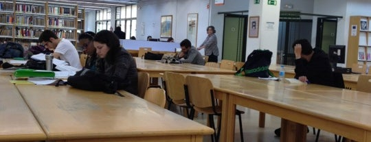 Biblioteca Facultad CC. Económicas y Empresariales (UCM) is one of Tania.
