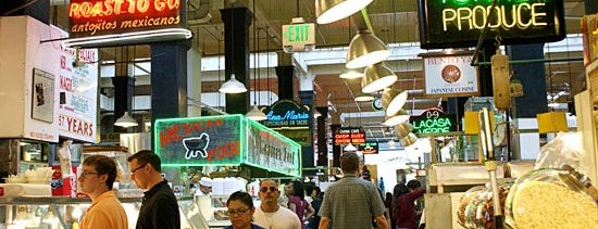 Grand Central Market is one of Kiesha's tips.