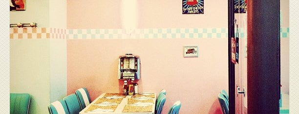 Peggy Sue's is one of Restaurants i Bars.