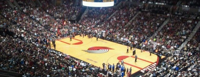 Moda Center at The Rose Quarter is one of Sport Staduim.