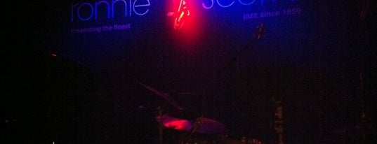 Ronnie Scott's Jazz Club is one of STA Travel Awesome London Music Spots.