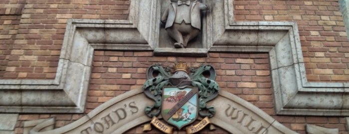 Mr. Toad's Wild Ride is one of a very strange and delightful day in disneyland.