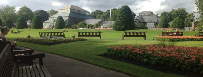 Glasgow Botanic Gardens is one of Essential Glasgow visits.