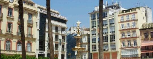 Plaza de la Constitución is one of 101 cosas que ver en Málaga antes de morir.