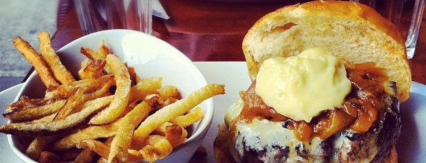 5 Napkin Burger is one of Just desserts.