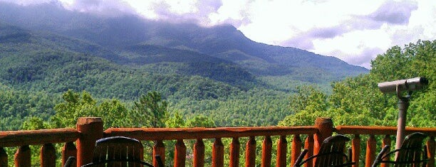 The 19th Hole Rental Cabin by Cabin Fever Vacations is one of Home Theater Cabins in the Smokies.