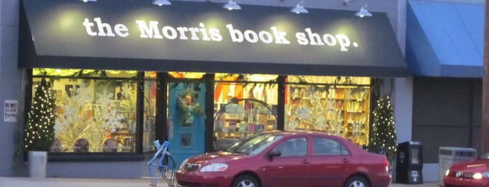 the Morris book shop is one of K Book Favorite Places to Shop.