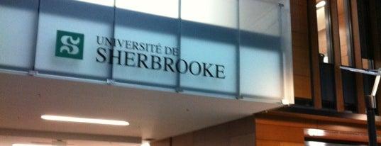 Université de Sherbrooke campus de Longueuil is one of Longueuil #4sqCities.