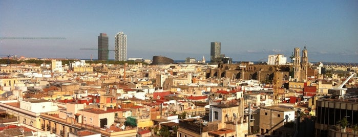 H10 Montcada is one of Best places for Jaw dropping views of Barcelona.