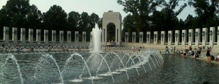 World War II Memorial is one of Washington D.C..