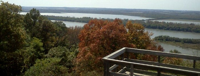Pere Marquette State Park is one of Eagle Watching Hot Spots.