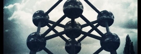 Atomium is one of Bruxelles.