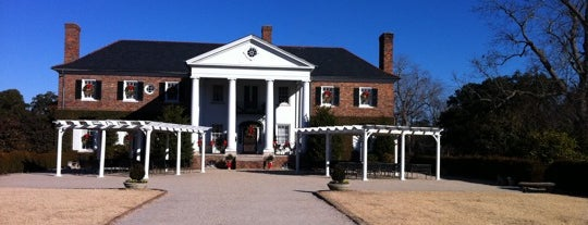 Boone Hall Plantation is one of Places from the reporting trail.