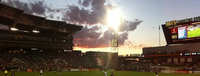 Dick's Sporting Goods Park is one of MLS Stadiums.
