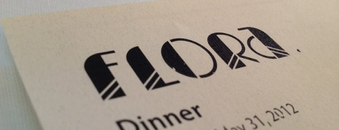 Flora Restaurant & Bar is one of Favorites.