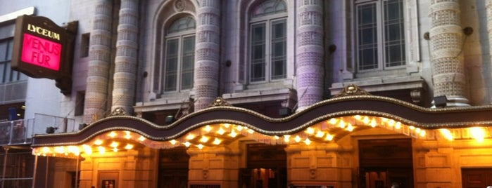 Lyceum Theatre is one of NYC Broadway Theatres.