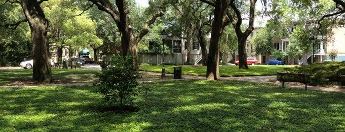 Pulaski Square is one of Savannah.